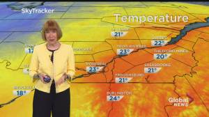 Global News Morning weather forecast: August 3, 2020