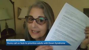 Canadian moms call on feds to prioritize adults with Down Syndrome (05:18)