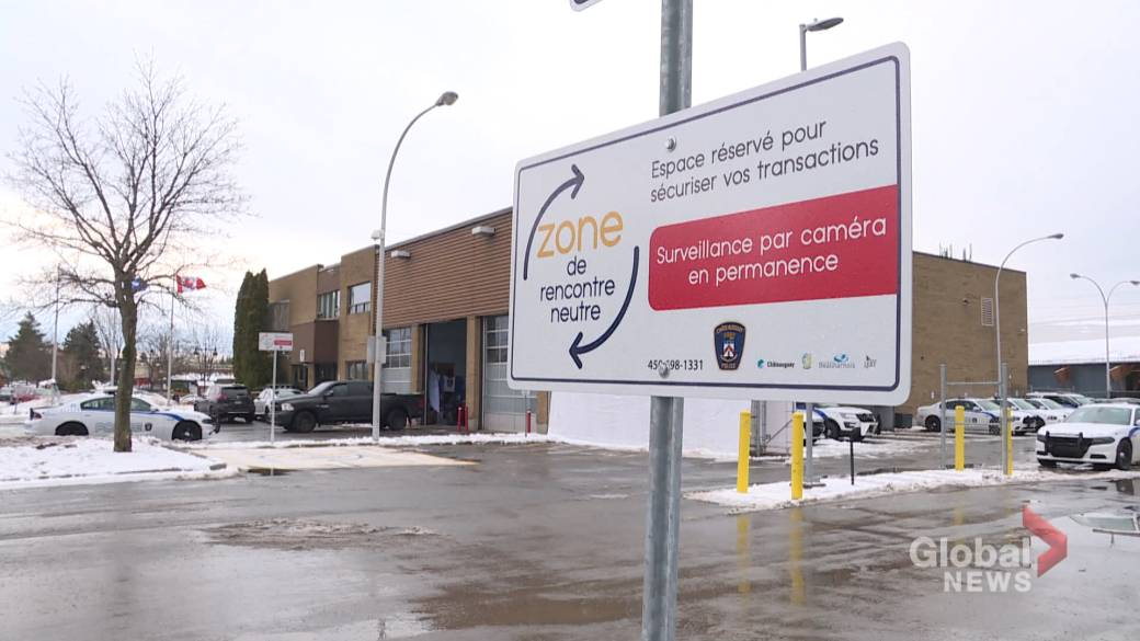Police in Châteauguay establish new safe zone for buying and selling