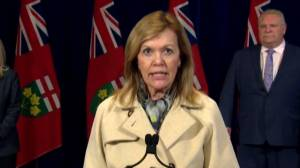 Coronavirus outbreak: Ontario health minister says province showing 'early but unmistakable signs' that COVID-19 efforts working