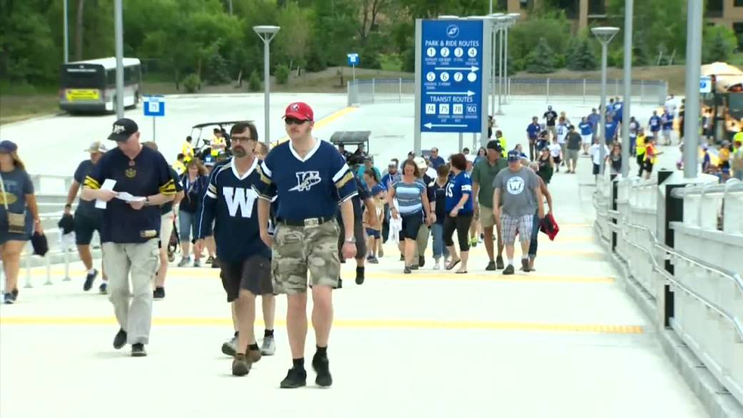 Click to play video: 'Winnipeg Blue Bombers gearing up to allow fully vaccinated fans into stadium'