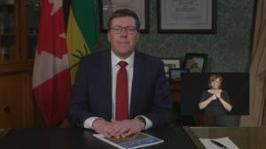 'We have flattened the curve': Saskatchewan Premier Scott Moe (00:42)