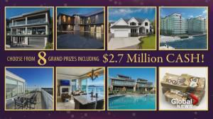 Early bird deadline for Millionaire Oceanview Home Lottery