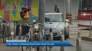 City of Toronto officials plan to avert confusion, danger by permanently closing downtown street to drivers