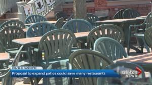 Coronavirus: Ontario cities looking into expanding restaurant patios