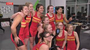 Dinos rowing team competes million-metre challenge