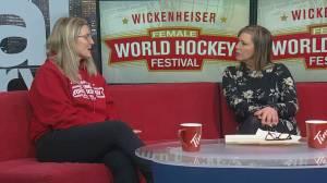 Hayley Wickenheiser hosts 10th annual WickFest female hockey festival