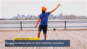 Gurdeep Pandher on his cross-country dance party to spread joy (03:47)