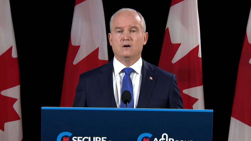 Click to play video: 'Canada election: O'Toole unveils plan to combat COVID-19, increase vaccinations'