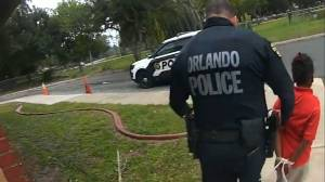 Orlando Police officer fired for arresting and binding 6 year-old with zip ties