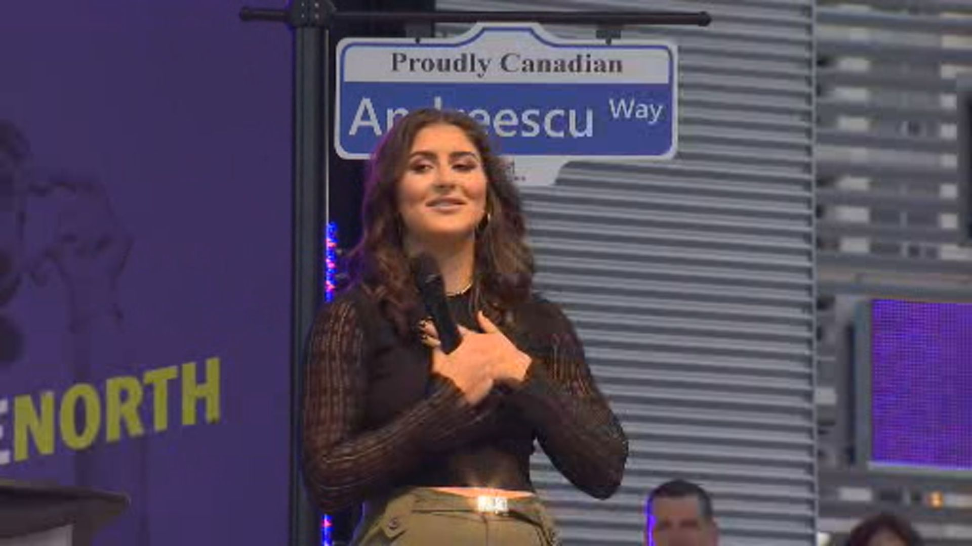 Bianca Andreescu says she never thought she'd get key to city of Mississauga, street name