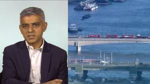 London mayor says 'big questions' need to be answered following stabbing suspect's former terrorism charges (01:13)