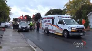 Two people sent to hospital following t-bone crash on Rubidge Street