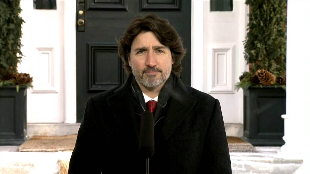 Click to play video 'Trudeau avoids direct answer on question of when he became aware of Gen. Vance allegations'