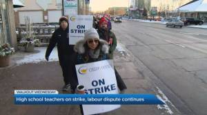 Rotating teacher strikes close down several Ontario schools on Wednesday