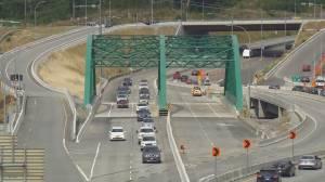 North Van's Lynn Creek bridge reopens (00:33)