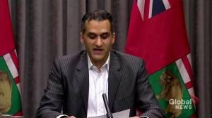 Manitoba health official explains province's stricter health measures (00:43)
