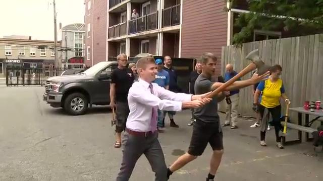 National Axe Throwing event returns to Liverpool