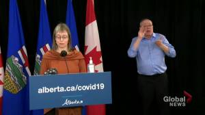 Coronavirus: Alberta identifies 456 cases of COVID-19, 17 deaths Tuesday (01:36)