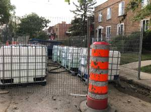 Large vats of chemicals in NDG spark concern among residents