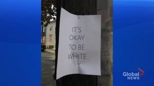 Students speak out after racist posters found on Halifax university campus