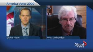 University of Lethbridge professor shares insights into 2020 United States election (06:04)