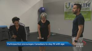 ParticipACTION encourages Canadians to stay fit with age