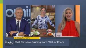Chef Christine Cushing on the new show 'Wall of Chefs'