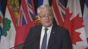 Garneau says CN, Via Rail has been in 'constant contact' with government