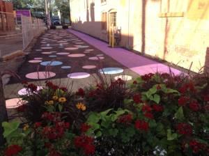 Edmonton starts work on Old Strathcona alley plaza project (01:54)