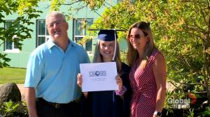 N.B. recent graduates still hoping to walk across the stage