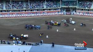 'All about safety': Calgary Stampede makes changes to chuckwagon races (01:54)