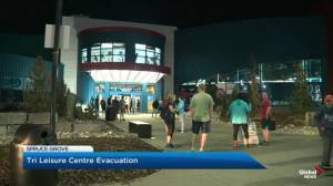 Spruce Grove Tri Leisure Centre Evacuated