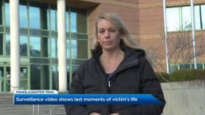 Surveillance video shows last moments of Kelowna homicide victim's life (01:58)