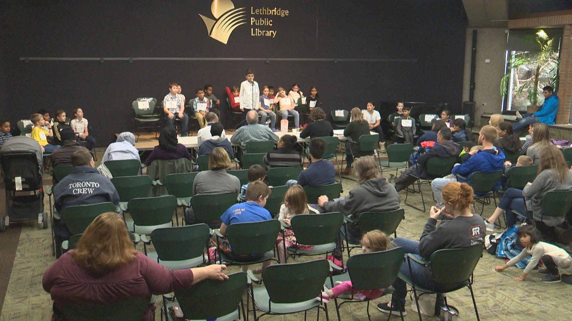 Lethbridge spelling bee promotes child literacy