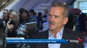 Michelle Obama, Martha Stewart & Chris Hadfield attend Toronto's Elevate Tech Fest