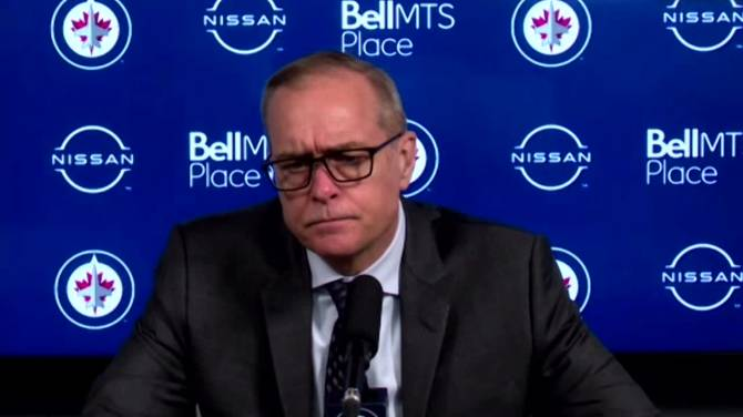Click to play video: RAW: Winnipeg Jets Paul Maurice Interview – Apr. 26