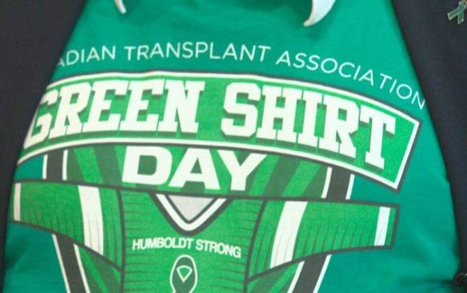 Click to play video: Boulet family overwhelmed by support as Green Shirt Day moves online