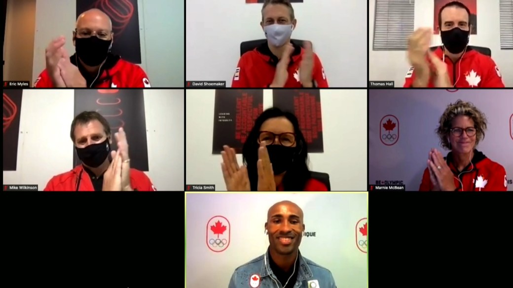 Click to play video: 'Damian Warner chosen as Canada's flag-bearer for Tokyo Olympics closing ceremony'