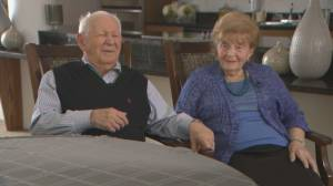 Holocaust survivors reflect on liberation, love