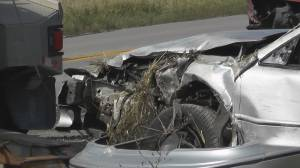 2 injured in head-on collision near Omemee