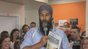 Federal Election 2019: Jagmeet Singh says Trudeau, Scheer not 'way forward' on tackling climate change