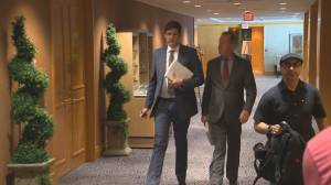 B.C. Attorney General David Eby testifies at Cullen Commission (03:09)