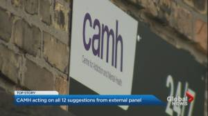 CAMH to implement 12 recommendations from expert panel