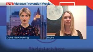 RCMP, 211 Saskatchewan raising awareness about domestic violence (04:24)