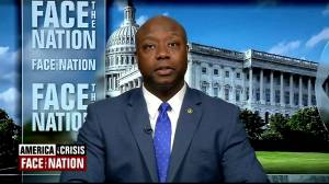 Republican Sen. Tim Scott says controversial video Trump initially retweeted was 'terrible'