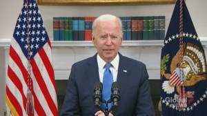 Biden urges Americans against panic-buying in the wake of Colonial Pipeline cyberattack (00:24)