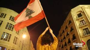 Fires ignited in Lebanon's streets after new PM appointed to form government