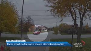 Toronto police search for man involved in alleged abduction attempt