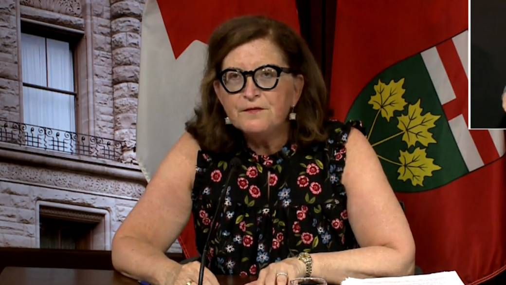 Click to play video: 'Ontario reports 447 new COVID-19 cases, 4 deaths'